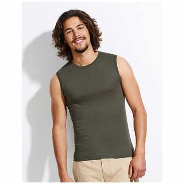 Mouwloos heren t-shirt Jazzy zonder