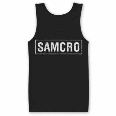SAMCRO t-shirt zonder mouw heren