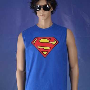 Superman heren singlet zonder mouw